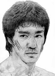 Bruce Lee by Alaneye