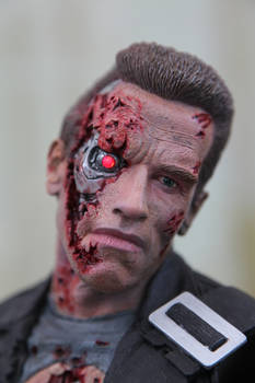 New Terminator 2 paint job close up