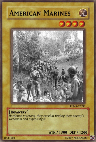 American Marines card by Mexicano27