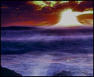 Sunrise Dream by hunterArtwork