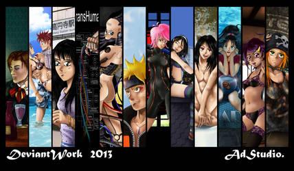DeviantWork 2013 by ADstudi0