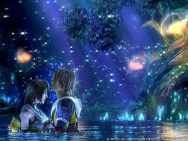 Tidus and Luna by HollyheartsBOTDF