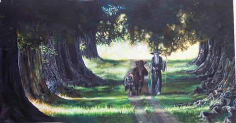 The Return Journey by book-illustrator