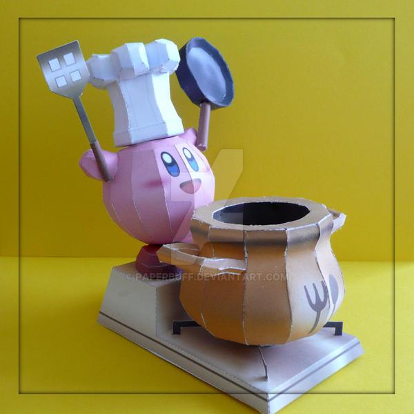 Kirby Final Smash Papercraft by PaperBuff
