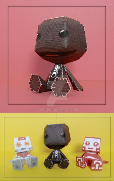 Sackboy Papercraft by PaperBuff