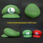 Luigi's Hat Papercraft