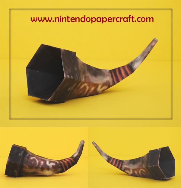 King Bulblin Horn Papercraft by PaperBuff