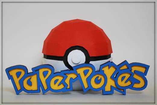 Paperpokes Papercraft Logo