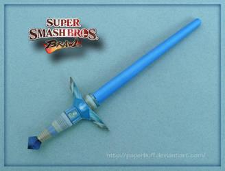 SSBB Beam Sword Papercraft by PaperBuff
