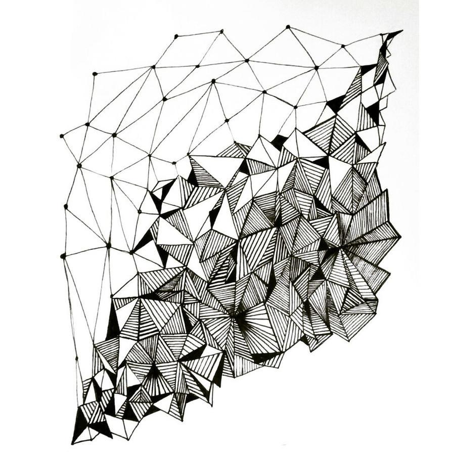 Geometry pattern design by AnnaColt on DeviantArt
