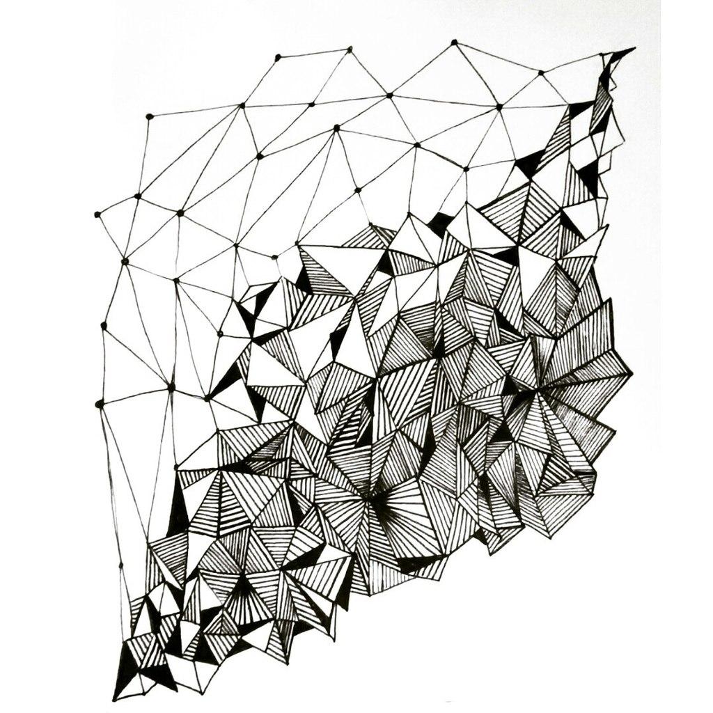 Line Art Pattern Design : Geometry pattern design by annacolt on deviantart