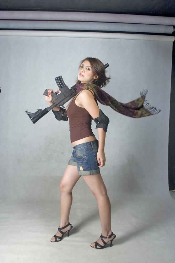 She is a Soldier 3 by paulussebastian