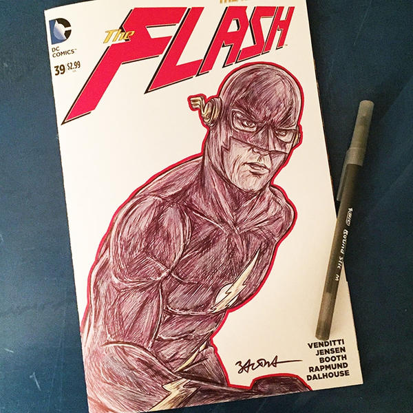 The Flash by NigelWeatherbottom