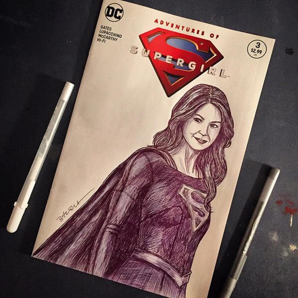 Supergirl by NigelWeatherbottom