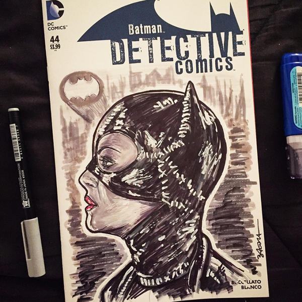 Catwoman by NigelWeatherbottom