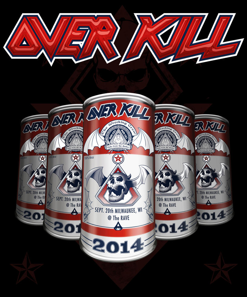 Overkill milwaukee by taghuso on deviantart for Craft fairs milwaukee wi