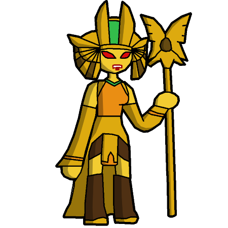 Golden Queen (Trap Team Villain) by 0-Technos-0 on DeviantArt