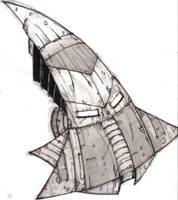 SpaceShipDesign by ravens-raziel