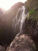 Clovelly Waterfall Shot2 by ravens-raziel