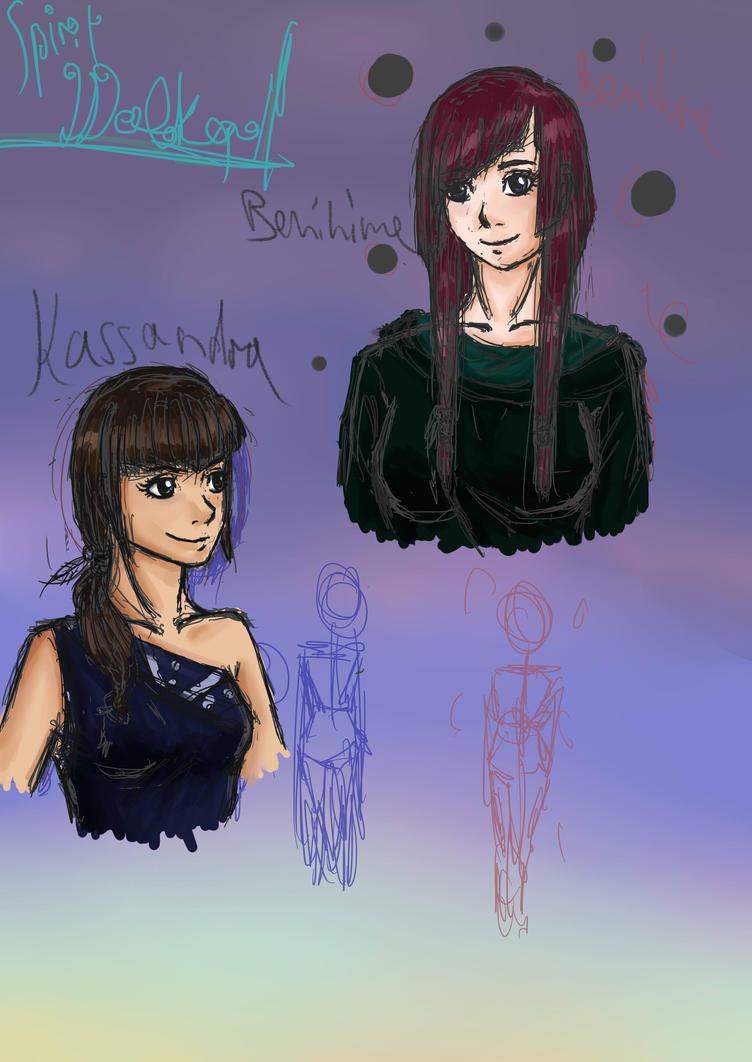 Spiritwalker Sketch by ninja-girl999