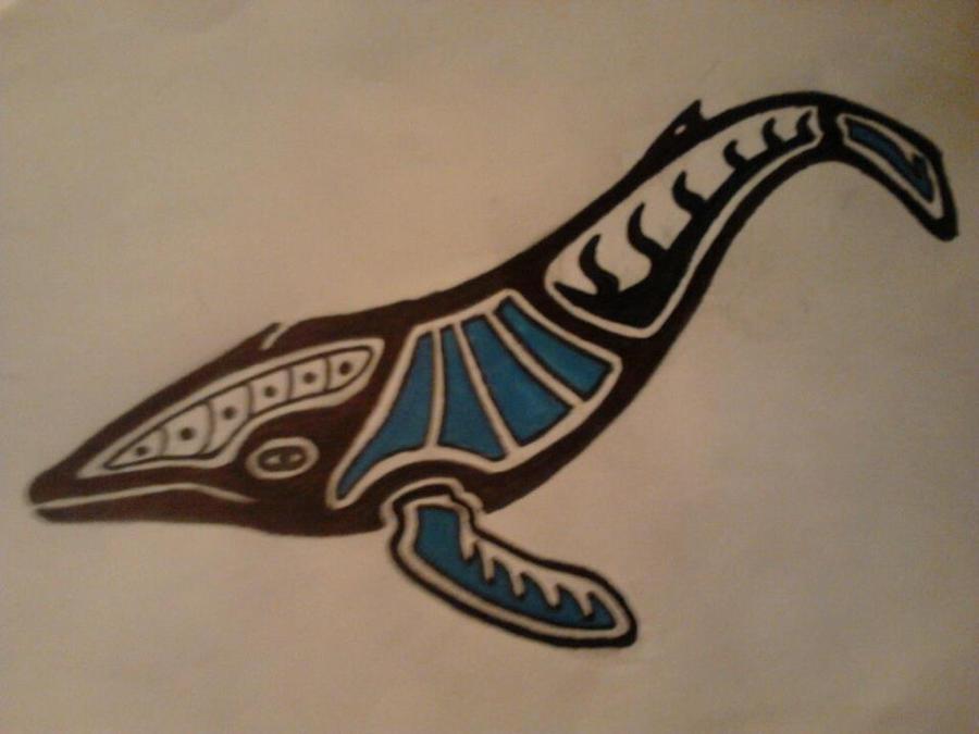 Haida Art Whale Haida Humpback Whale by sedomare on DeviantArt
