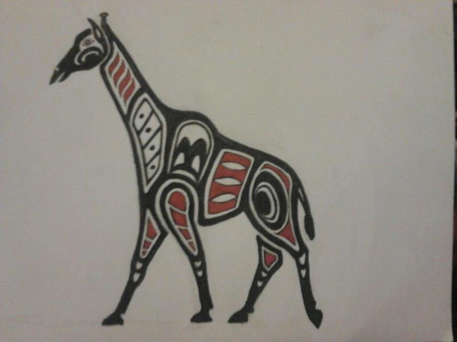 Haida Giraffe By Sedo Mare On Deviantart