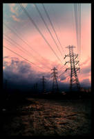 industrial sunset 1 by dskphotography
