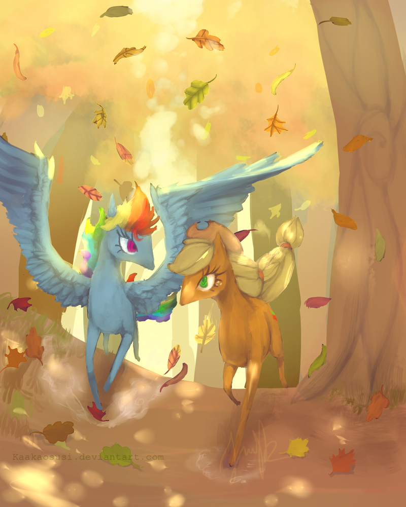 Autumn run by Kaakaosusi