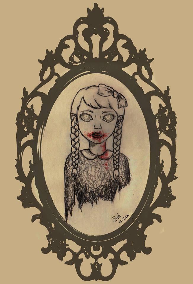 Vampire Girl by Snaecka