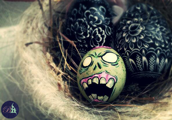 Zombie Egg 2015 by Snaecka