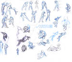 Body study 1 - pose reference male and female