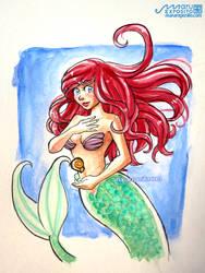 Ariel - the Little Mermaid by MaruExposito
