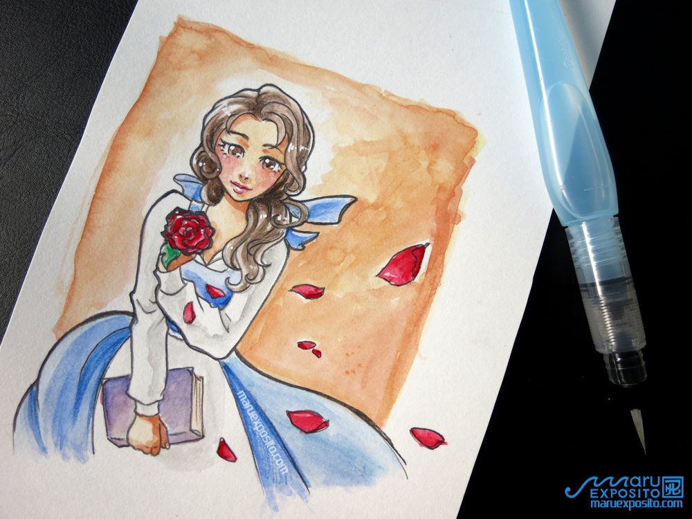 Belle - Beauty and the Beast (Disney) by MaruExposito