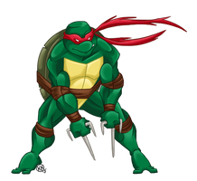 Raphael is Cool but Crude by Shellsweet