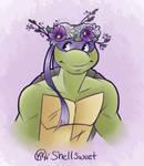 Donatello's Flower Crown