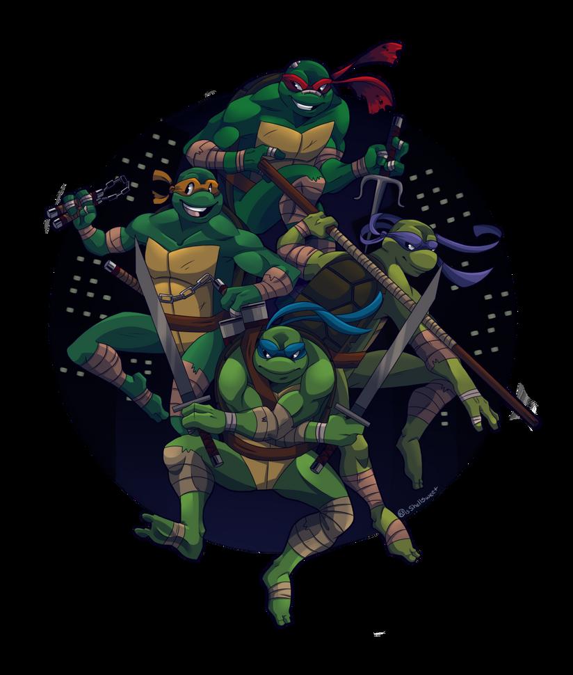 Turtle Power by Shellsweet