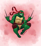 Raphael Leaping