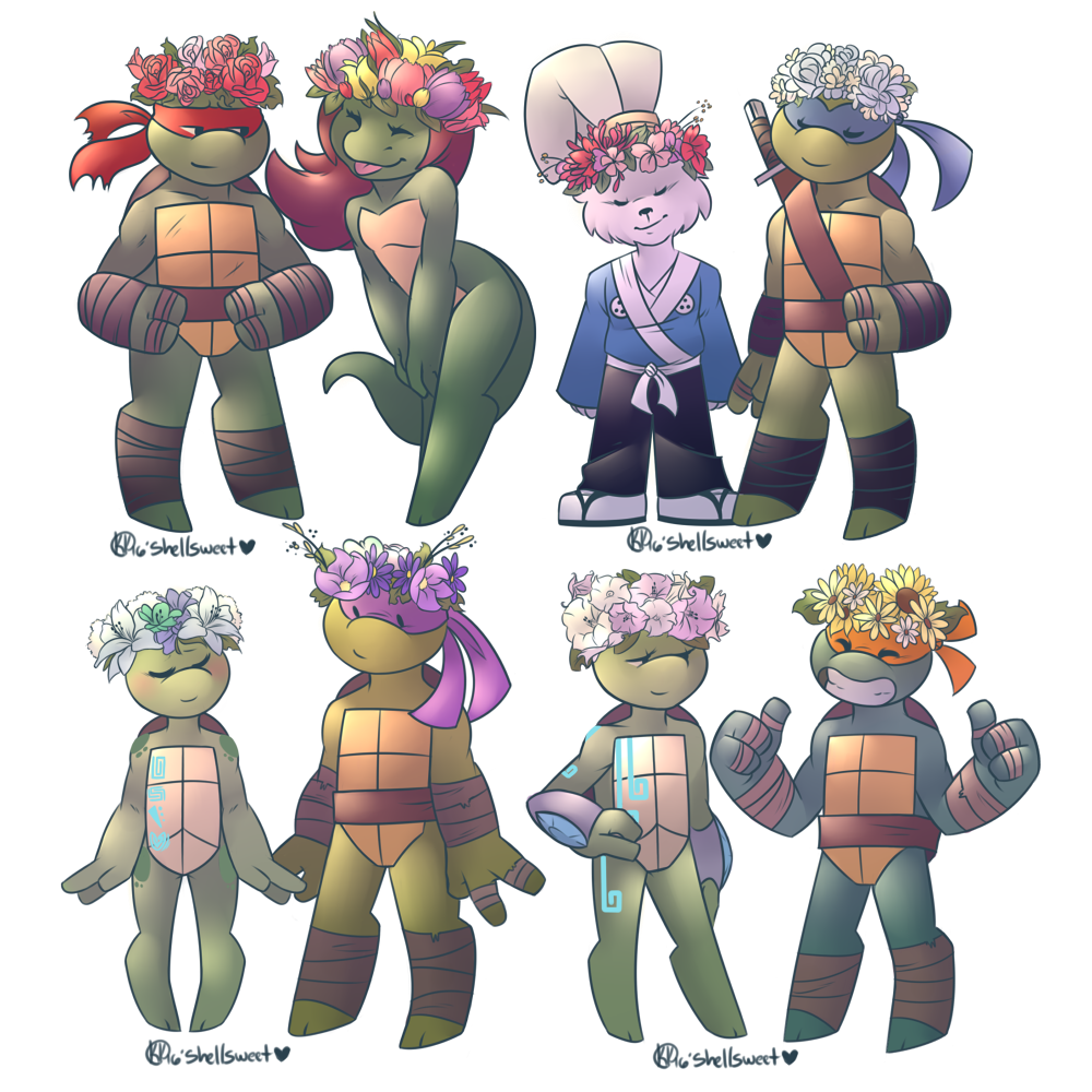 Flower Crown Gang By Shellsweet On Deviantart
