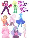 Steven Universe Sketch Dump