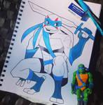 Inktober Day 13: Leonardo