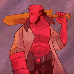 Hellboy Day by Shellsweet