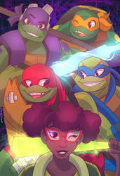 Rise of the TMNT by Shellsweet
