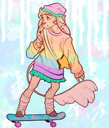 Skater Deer