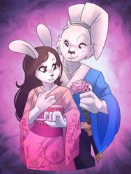 Usagi and Mariko