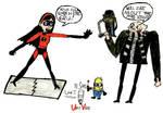 Incredibles DM-Vi Vs. Gru