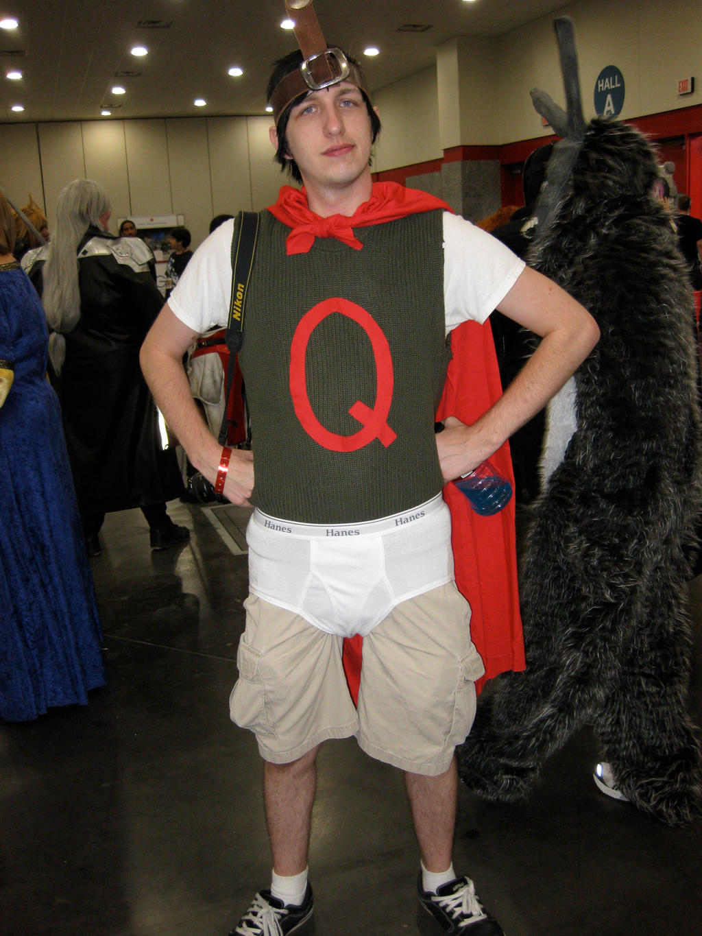 Quailman by Urvy1A on DeviantArt Quailman Costume