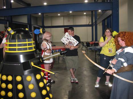 Merida Vs. The Dalek
