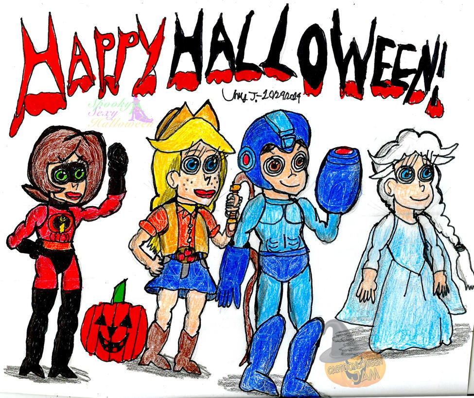 Halloween 2014 Pic by Urvy1A