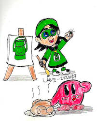 GL Adeline + Random Kirby by Urvy1A