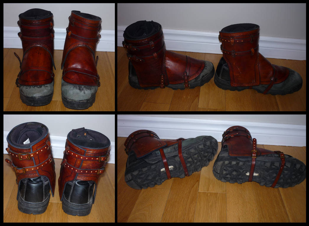 Boots cover - Couvres botte by elanqc